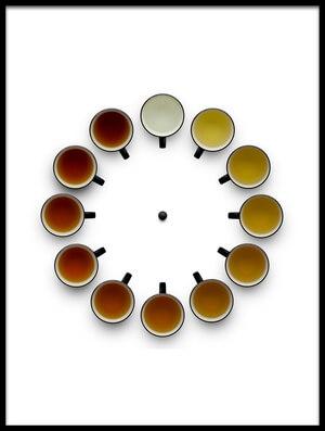 Buy this art print titled Tea Time by the artist Wieteke de Kogel