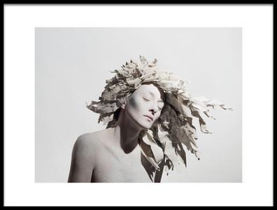 Art print titled Tear the Paper Hair Ii by the artist Dimitar Dachev
