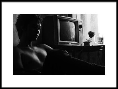 Art print titled Television by the artist bayu perwiranegara