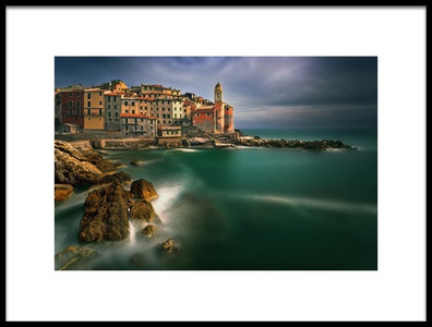 Buy this art print titled Tellaro by the artist Krzysztof Browko