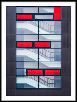 Art print titled Tetris by the artist Karol Važan