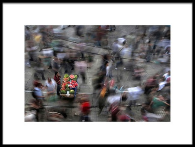 Buy this art print titled The  Chaos of the City by the artist fatih balkan