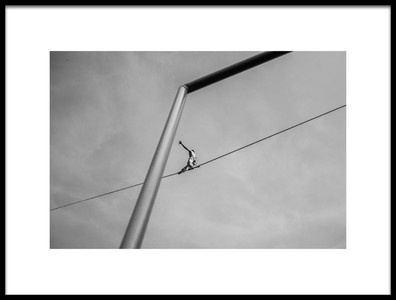 Buy this art print titled The Acrobat by the artist Alessandro L.  Rocchi