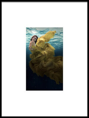Art print titled The Angel by the artist Martha Suherman