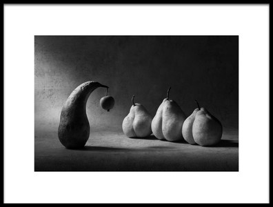 Art print titled The Apple of Discord by the artist Victoria Ivanova