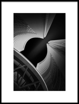 Art print titled The Arc by the artist Henry Zhao