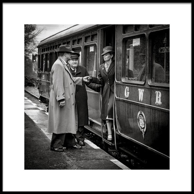 Art print titled The Arrival by the artist Richard Bland