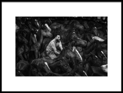Art print titled The Battle by the artist Alfonso maseda varela