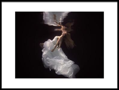 Art print titled The Bride by the artist Gabriela Slegrova