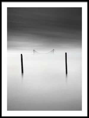 Art print titled The Bridge by the artist George Digalakis