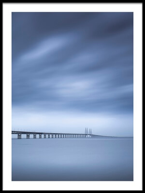 Art print titled The Bridge by the artist Andreas Christensen