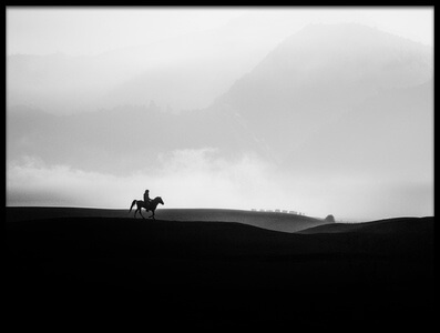 Art print titled The Bromo Rider by the artist Andi Halil