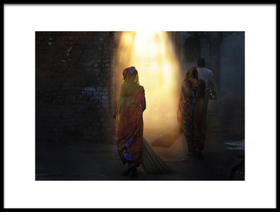 Art print titled The Call of Light by the artist Lou Urlings