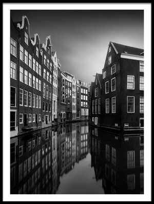Art print titled The Canal Houses by the artist Marco Maljaars