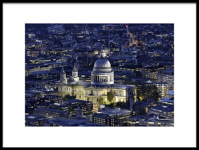 Art print titled The Cathedral by the artist Ahmed Lashin