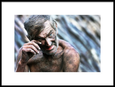 Art print titled The Charcoal Master by the artist Sorin Onisor