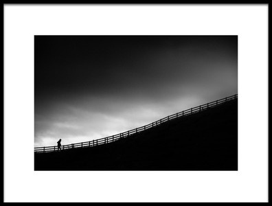 Art print titled The Climb by the artist Erminio Vanzan