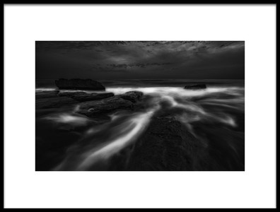 Art print titled The Current by the artist Shahin Buzarjomehri