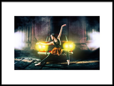 Buy this art print titled The Dance Master by the artist David Hendrawan