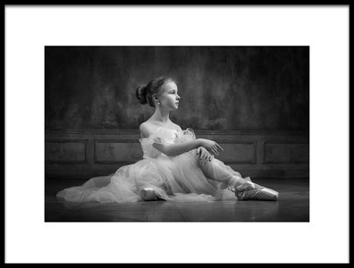 Art print titled The Dancer by the artist Victoria Ivanova