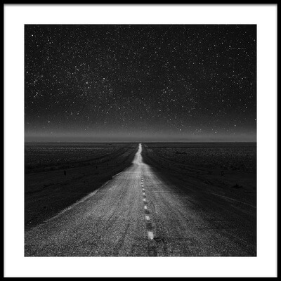 Buy this art print titled The Dark Eternal Night by the artist asef azimaie