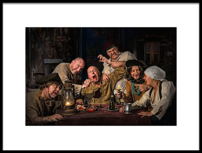 Buy this art print titled The Dentist  Homage to Caravaggio by the artist Derek Galon MA FRPS FOPS