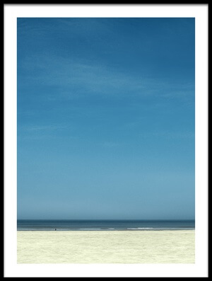 Buy this art print titled The Deserted Beach Almost II by the artist Gilbert Claes