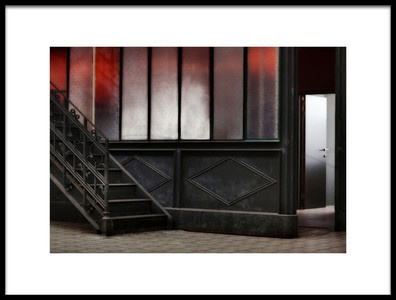 Art print titled The Door Is Open by the artist Marc Apers