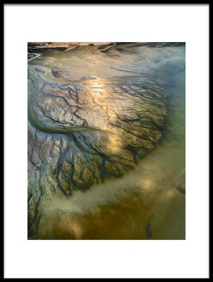 Art print titled The Earth Veins by the artist Faisal ALnomas
