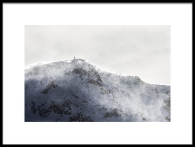 Art print titled The Edge by the artist Christian Skilbeck