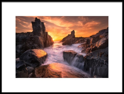 Buy this art print titled The Edge of the World by the artist Joshua Zhang