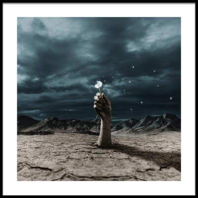 Art print titled The End? by the artist Terry F