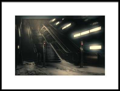 Art print titled The End Is Near by the artist HatCat Photography