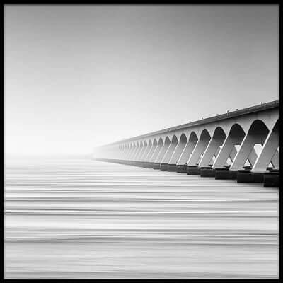 Buy this art print titled The Endless Bridge by the artist wim denijs