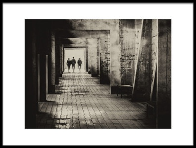 Art print titled The Exit by the artist Thomas Siegel