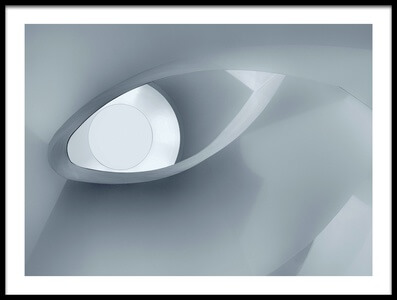 Buy this art print titled The Eye of the Staircase by the artist Jeroen van de Wiel