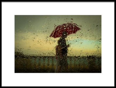 Art print titled The First Storm of Summer by the artist Ignasi Raventos