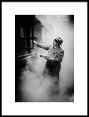 Art print titled The Foreman by the artist Richard Bland