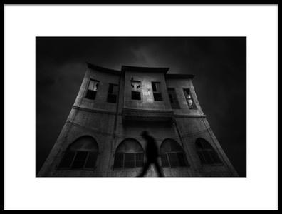 Art print titled The Ghost by the artist Deniz Ener