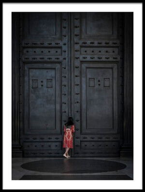 Buy this art print titled The Girl Next Door by the artist Antonio Convista