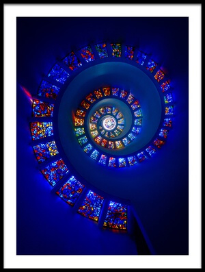 Art print titled The Glory Window by the artist Michael Zheng
