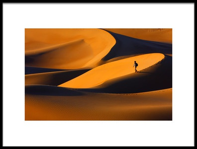 Buy this art print titled The Golden Light of Sunset, and Its Form by the artist Ebrahim bakhtari bonab