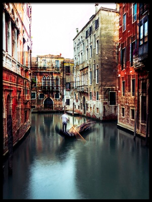 Buy this art print titled The Gondolier by the artist Carmine Chiriacò