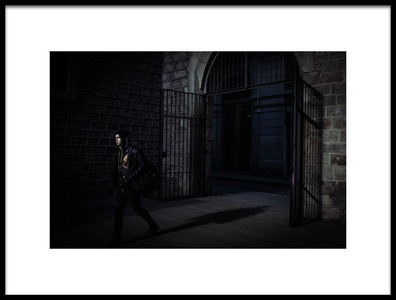 Art print titled The Gothic Young by the artist Ignasi Raventos