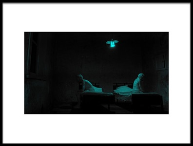 Art print titled The Green Room by the artist Lus Joosten