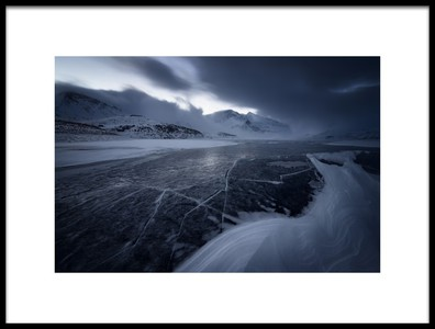 Art print titled The Grip of Ice by the artist Marco Barone