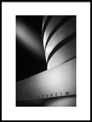 Buy this art print titled The Guggenheim Museum by the artist Jorge Ruiz Dueso