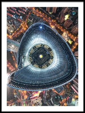 Buy this art print titled The Heart of Shanghai by the artist Stan Huang