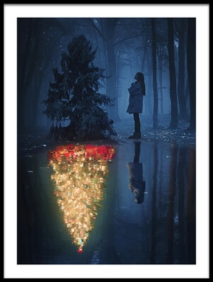 Buy this art print titled The Hope of Christmas by the artist Terry F