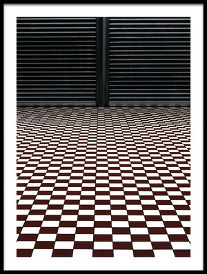 Art print titled The Hypnotic Floor by the artist Gilbert Claes